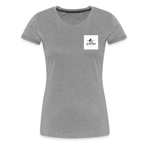 logo ecriture noir fonds blanc - Women's Premium T-Shirt