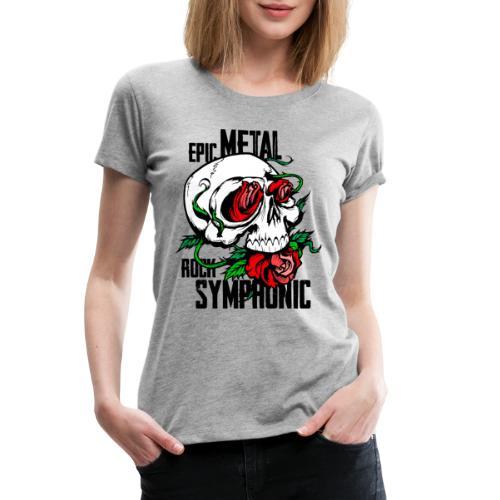 epic rock symphonic - Women's Premium T-Shirt