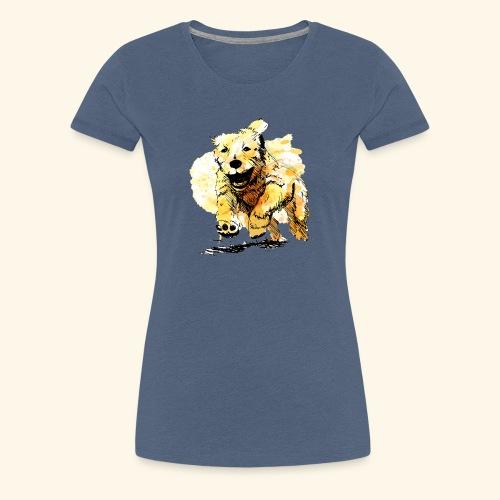 oil dog - Women's Premium T-Shirt