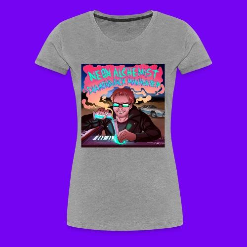 Neon Alchemist Album Cover #1 Best Grammy All-Time - Women's Premium T-Shirt