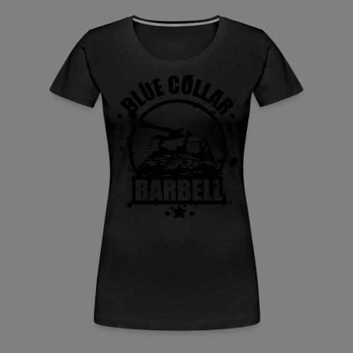 logo transparent double - Women's Premium T-Shirt