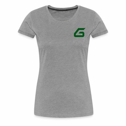 The New Era M/V Sweatshirt Logo - Green - Women's Premium T-Shirt