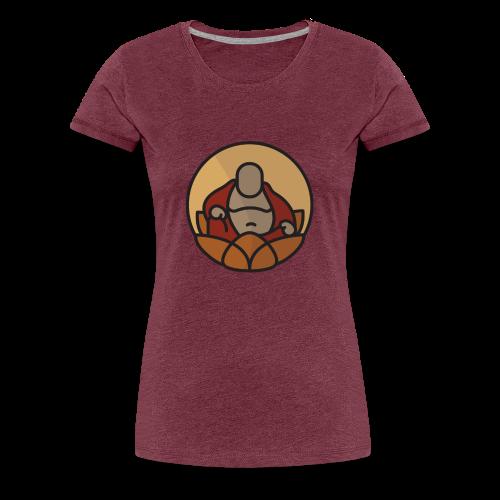 AMERICAN BUDDHA CO. COLOR - Women's Premium T-Shirt