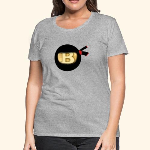 Bitcoin Ninja - Women's Premium T-Shirt