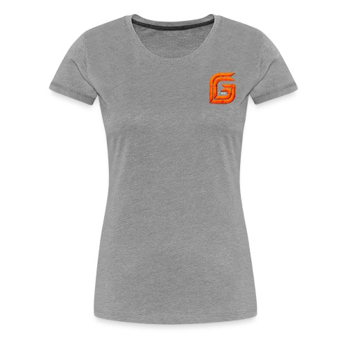 Classic Small GG Lad Logo - Women's Premium T-Shirt