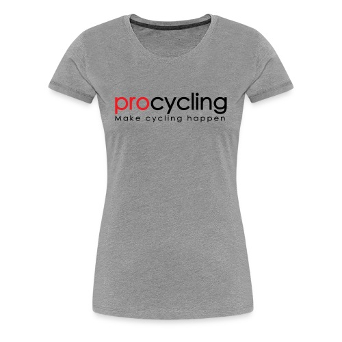 procycling luxembourg - Women's Premium T-Shirt
