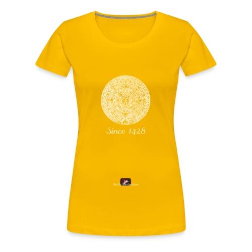Since 1428 Aztec Design! - Women's Premium T-Shirt