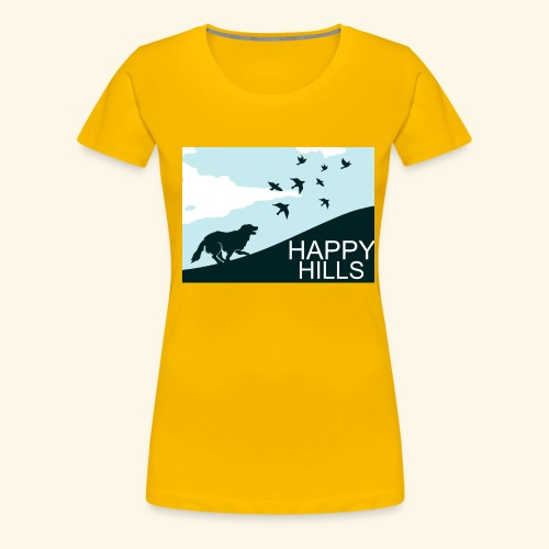 Happy hills - Women's Premium T-Shirt