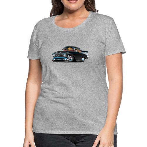 Classic hot rod fifties muscle car - Women's Premium T-Shirt