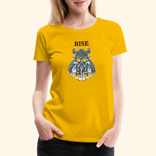 RISE CELTIC WARRIOR - Women's Premium T-Shirt