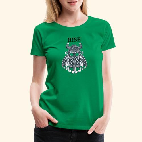 RISE CELTIC WARRIOR - Women's Premium T-Shirt