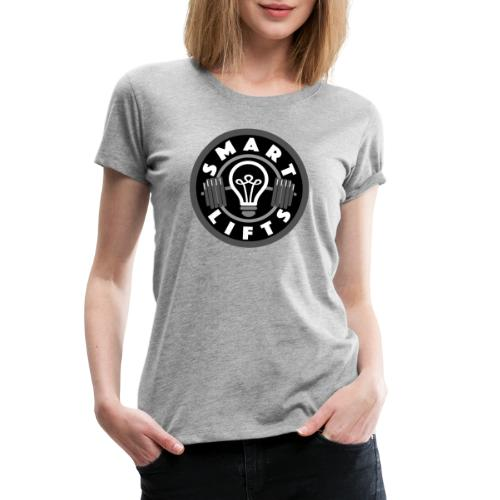 Smartlifts Greyscale Clothing - Women's Premium T-Shirt