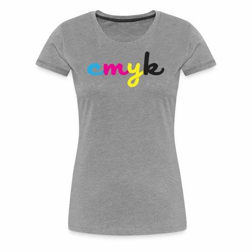 CMYK for Graphic Design Lovers - Women's Premium T-Shirt