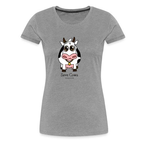 Save Cows - Women's Premium T-Shirt
