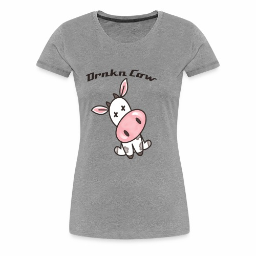 Classic Drunken Cow - Women's Premium T-Shirt