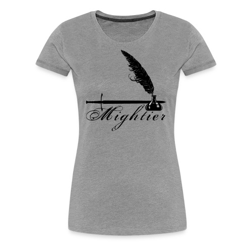 mightier - Women's Premium T-Shirt