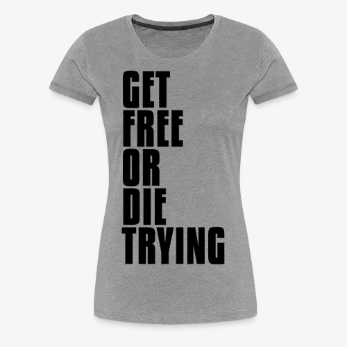 gfodtblack - Women's Premium T-Shirt