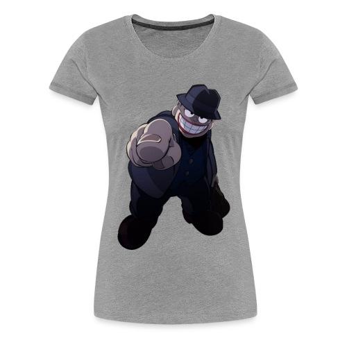 The Laughing Salesman - Women's Premium T-Shirt