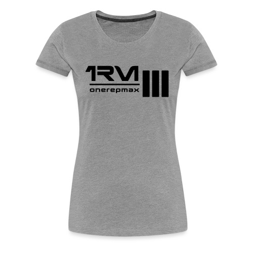 1rm logo final - Women's Premium T-Shirt