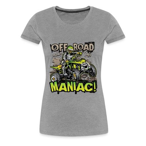 ATV Quad Skull Rider - Women's Premium T-Shirt