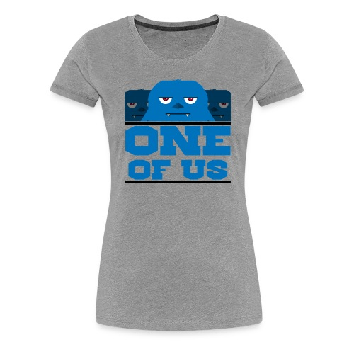 one of us blue png - Women's Premium T-Shirt