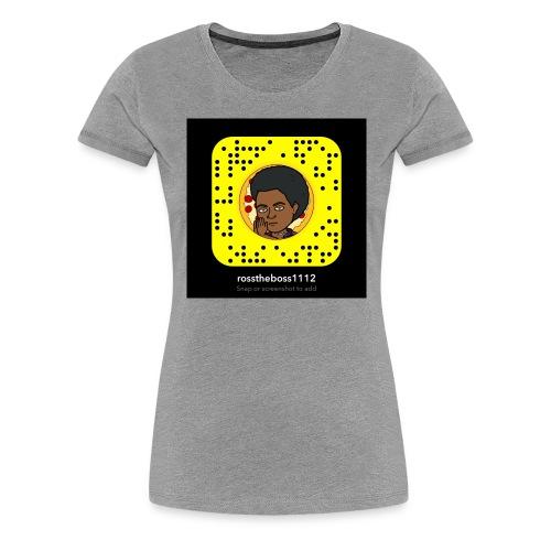 Snap code hoodie - Women's Premium T-Shirt