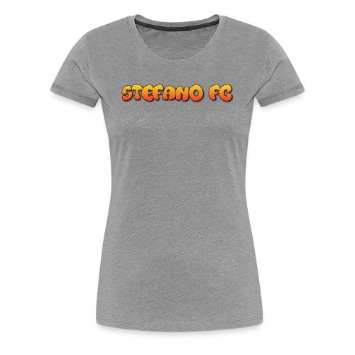 Stefano FC Text - Women's Premium T-Shirt