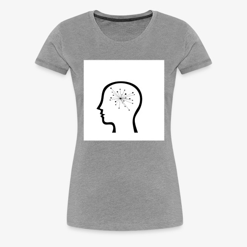 ThoughtSparks Simple Logog in White - Women's Premium T-Shirt