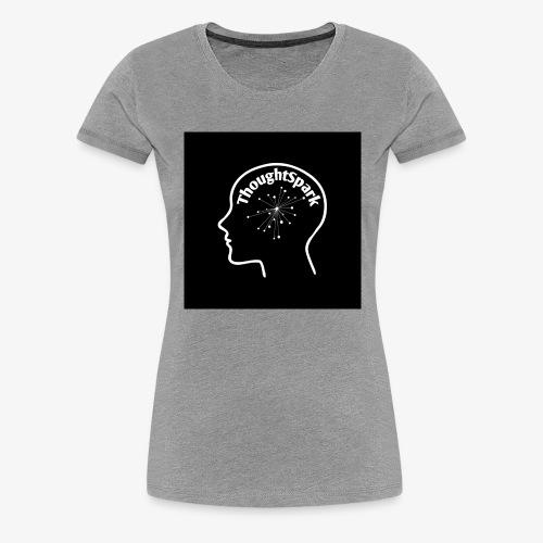 ThoughtSpark Dark Edition - Women's Premium T-Shirt
