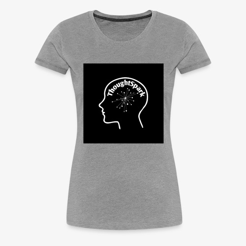 ThoughtSpark Dark Edition - Women's Premium T-Shirt