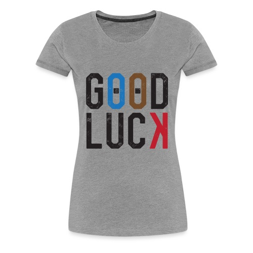 scherzer-good-luck - Women's Premium T-Shirt