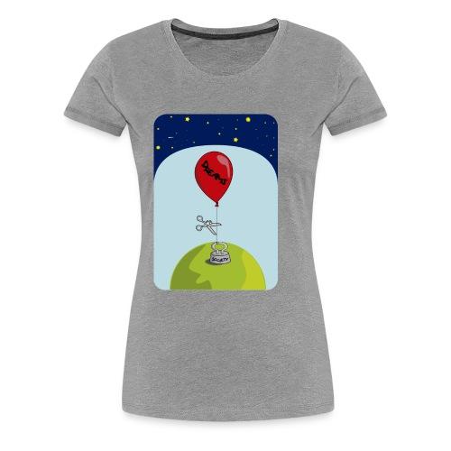 dreams balloon and society 2018 - Women's Premium T-Shirt