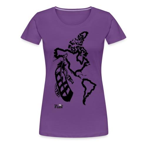 NativeLand - 7thGen - Women's Premium T-Shirt