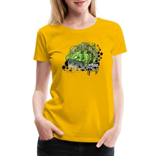 mr & mrs muppet - Women's Premium T-Shirt