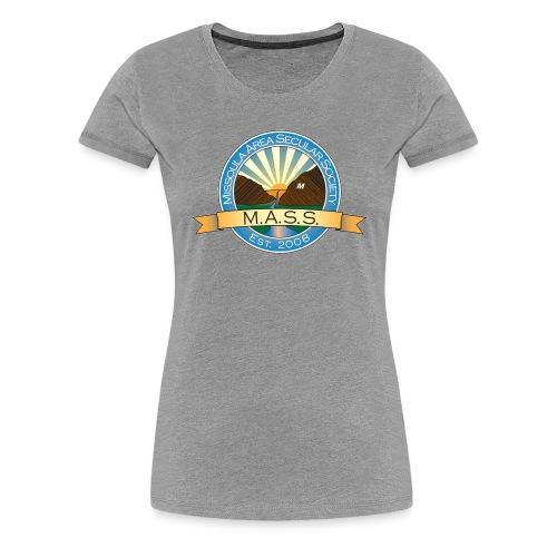 Missoula Area Secular Society Logo - Women's Premium T-Shirt