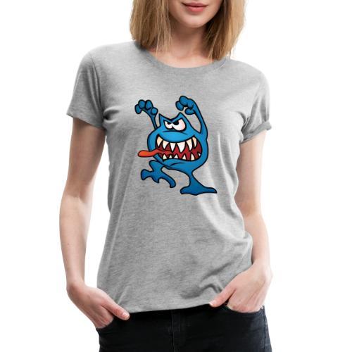 cartoon monster 4 - Women's Premium T-Shirt