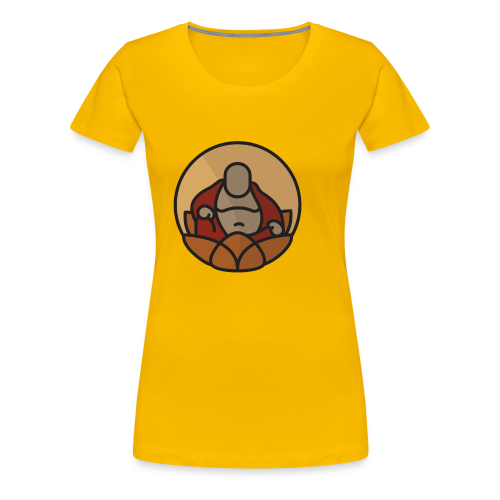 AMERICAN BUDDHA CO. COLOR - Women's Premium T-Shirt