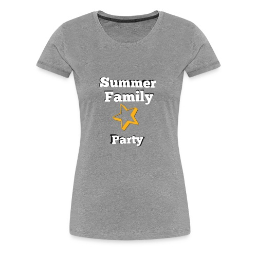 Summer party T-shirt - Women's Premium T-Shirt