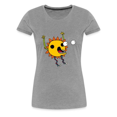 Scary flower - Women's Premium T-Shirt