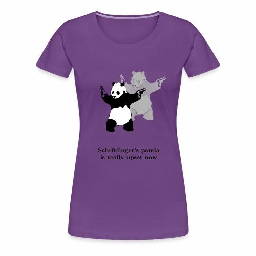 Schrödinger's panda is really upset now - Women's Premium T-Shirt