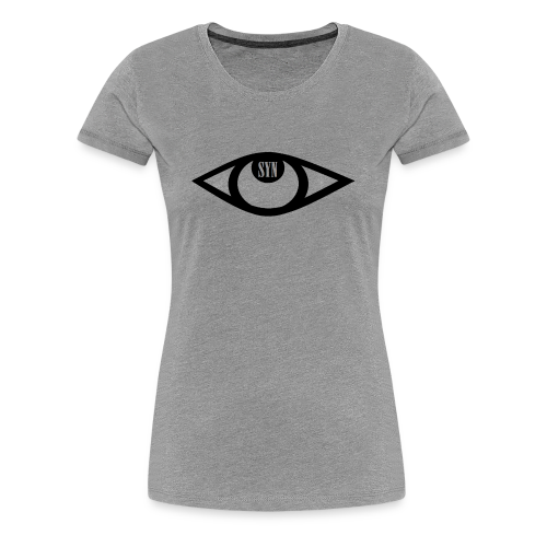 Syn logo black - Women's Premium T-Shirt
