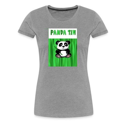 Panda Tim - Women's Premium T-Shirt