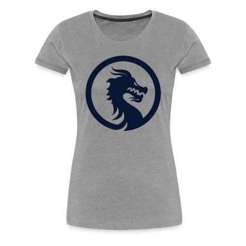 Dragon Logo PNG - Women's Premium T-Shirt