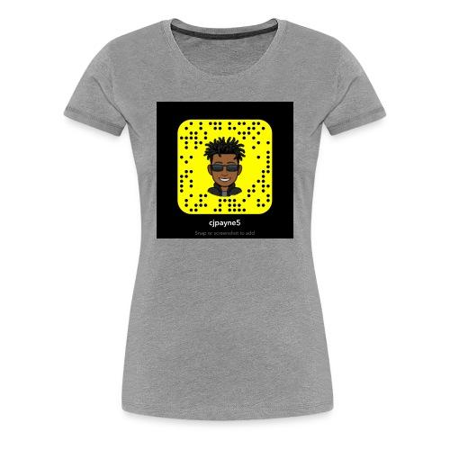 Snap - Women's Premium T-Shirt