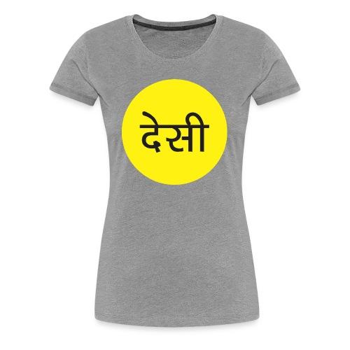 The Average Desi - Women's Premium T-Shirt