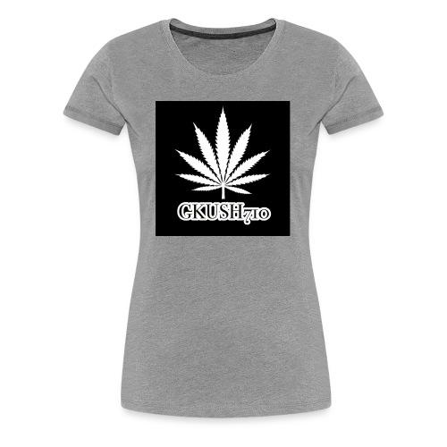 Weed Leaf Gkush710 Hoodies - Women's Premium T-Shirt