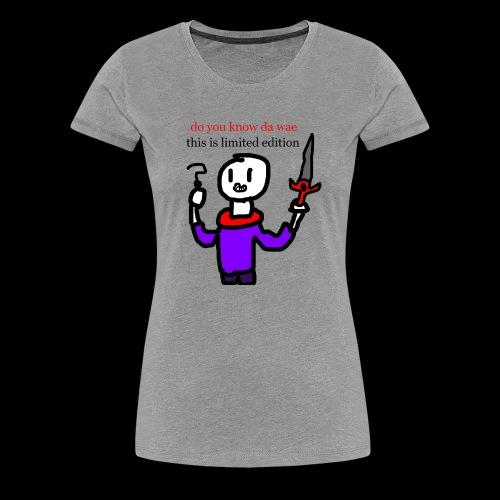 limited edition merch - Women's Premium T-Shirt