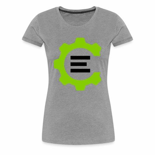 Giant Logo - Women's Premium T-Shirt