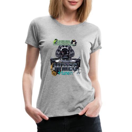 WMEG internet Radio logo - Women's Premium T-Shirt