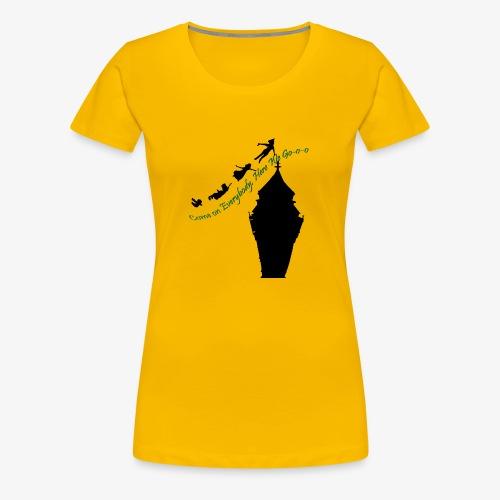 Come on Everybody, Here We Go-o-o - Women's Premium T-Shirt